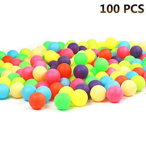 100 Tenis de Mesa de Colores