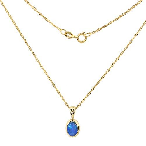 terra-opalis-damen-halskette-mit-anhanger-echt-gold-375-9-karat-kristallopal-opal-040ct-45cm-singapu
