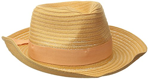 physician-endorsed-womens-avanti-packable-fedora-with-memory-wire-tan-one-size