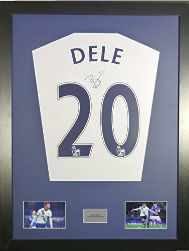 Deli-Alli-Tottenham-Signed-Shirt-Display-with-COA