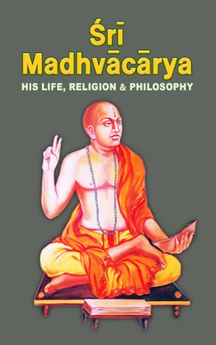 Sri Madhvacarya His Life Religion And Philosophy (English Edition) por Swami Tapasyananda
