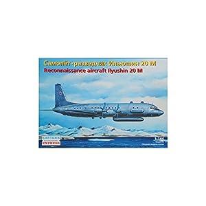 """Ark Models EE14489 - Escala 1:144 """"Ilyushin IL-20M Aviones de reconocimiento rusos Modelo de plástico"""