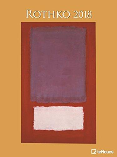 Rothko 2018 - Kunstkalender, Posterkalender, Abstrakter Expressionismus - 48 x 64 cm