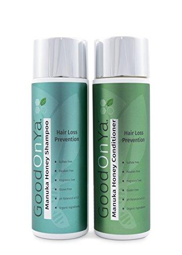 Manuka Honig Shampoo & Conditioner Set (250 ml) natürlich, Schuppen, Haaraufall, Dermatitis, Ekzeme