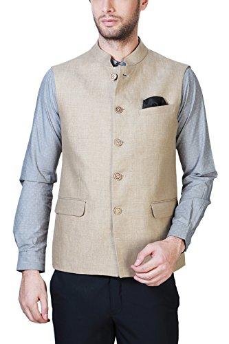 Van Heusen Men's Slim Fit Blazer (8907522008007_VHWC316M06157_36_Khaki Light)  available at amazon for Rs.3748