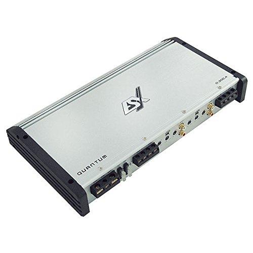 ESX Q-300.4 - AV-Receiver (verkabelt, 4 x 55W, 375 x 205 x 52 mm)