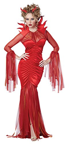 Teufel Diva Kostüm - Women's Devilish Diva Fancy dress costume X-Large