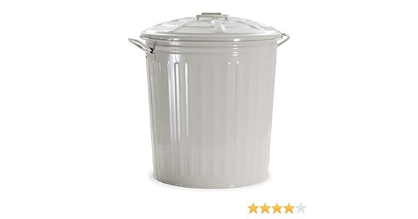 Verdelook bidone per rifiuti colore beige l cestino