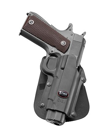 Fobus Conceal concealed carry Left Hand Belt Holster for Colt 45 Government & All 1911 style / FN High power / FN 49 / Kimber 4&5 inch / Sasilmaz Klinic 2000 light / Browning Hi-power Mark III 4, 5mm. / Browning GPDA 9
