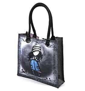 Gorjuss Large Coated Shopper Bag - Toadstools