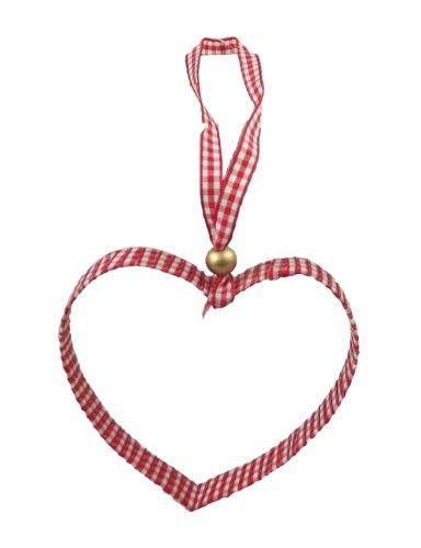 chten Gingham-Band Cookie Cutter Weihnachtsbaumschmuck 9cm ()