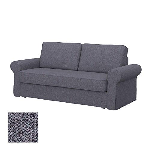 Soferia - IKEA BACKABRO Funda para sofá Cama de 3 plazas, Nordic...