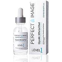 Perfect Image - Peeling gel con 30 % ácido glicólico – enriquecido con retinol y extracto de té verde (peeling químico profesional)
