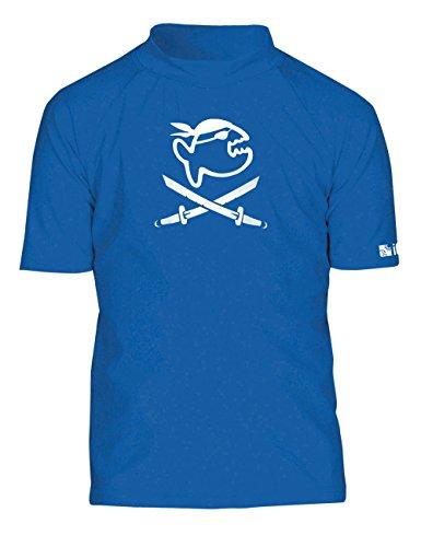iQ-Company Kinder UV Kleidung 300 Shirt, Dark-Blue, 140, 7253152445