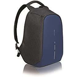 XD Design Bobby Compact Mochila Antirrobo Portátil Azul Marino (Bolsa USB)