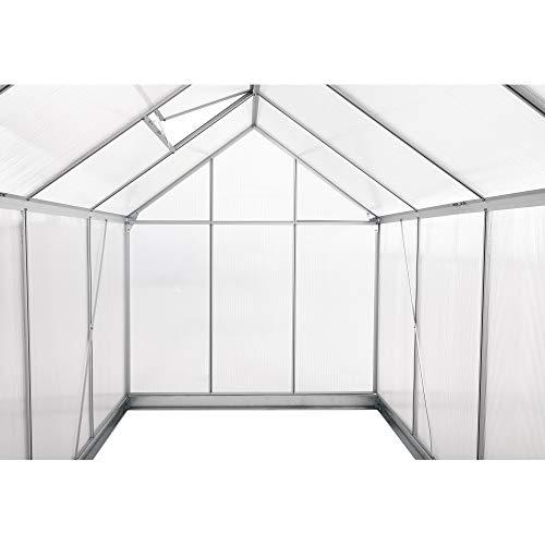 Zelsius – Aluminium Treibhaus - 7