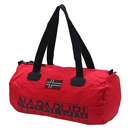 Napapijri Unisex-Erwachsene Bering Small 1 Umhängetasche, 26 x 26 x 50 cm Sparkling Red