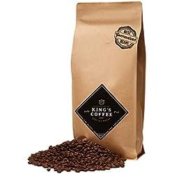 King's Coffee - Spezielle Espresso Röstung - Feinster Arabica Robusta Blend - Kaffee-Bohnen für Vollautomaten - 1KG Espresso-Bohnen