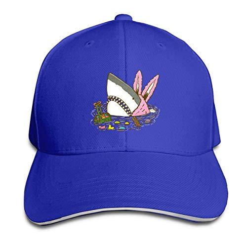 T-Rex Bunny Easter Egg Sandwich Baseball Caps Unisex Trucker Style Hats