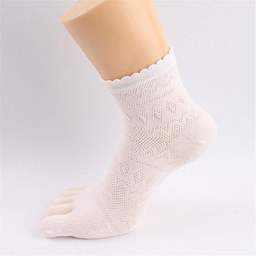 BSD Fußabdeckung Yoga Socken Baumwolle Fünf Finger Anti-Rutsch-Socken Deodorant Atmungsaktiv  