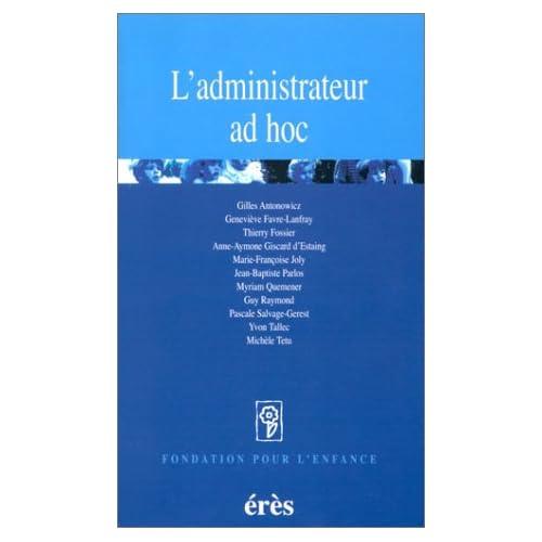 L'Administrateur ad hoc