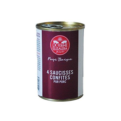 Saucisses confites - 2/3 personnes