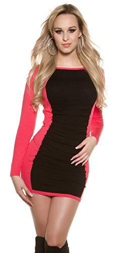 In-Stylefashion - Robe - Femme marron marron taille unique rose bonbon