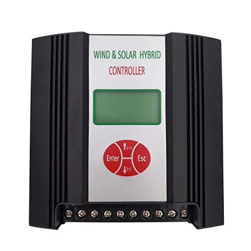 Especificación: Tensión nominal de la batería 12V Voltaje nominal 400W de la turbina de viento Máxima potencia de entrada de la turbina eólica 600W Corriente de freno de turbina eólica 40A Potencia nominal de entrada 150W Dumpload Inicio Tensión 13.5...