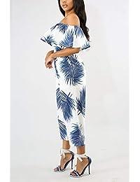 Amazon.es  volantes - M   Pantalones   Mujer  Ropa 9be7d2b8bd3c