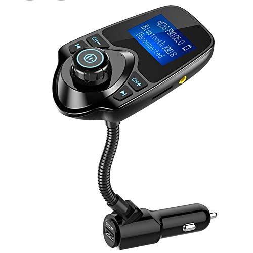 Auto-Ladegerät, Dual-USB-Ports, AUX-Eingang/Ausgang, Mit LED-Anzeige, Handsfrei Anrufen/Dual USB Ladegerät/U Disk/TF Karte