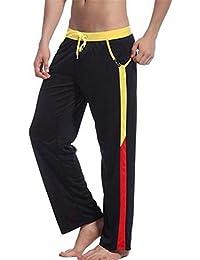 bfc9be3391f0 Uomo Pantaloni Pigiama Jeans Maschili Pantaloni Pigiama Mens Puro  Abbigliamento da casa Pigiama Uomo Pantaloni da