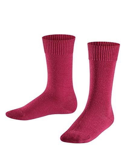 FALKE Kinder Comfort Wool K SO Socken, Rot (Red Plum 8236), 23-26 -