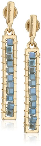 kenneth-cole-new-york-blue-mood-woven-faceted-bead-stick-drop-earrings
