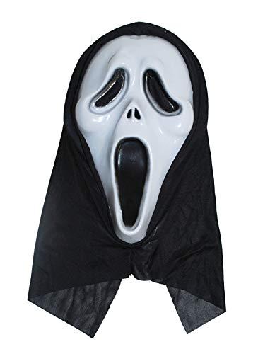 Cesar-Máscara Fantasma, 61116, Blanco y Negro, Talla única