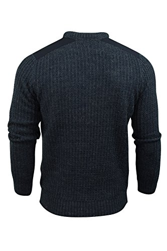 Tokyo Laundry 'Brockville' - Pull pour homme - col rond Mood Indigo