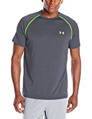 Under Armour Ua Tech Ss Tee Herren Fitness - T-shirts & Tanks, Grau (Stealth Grey), Gr. M