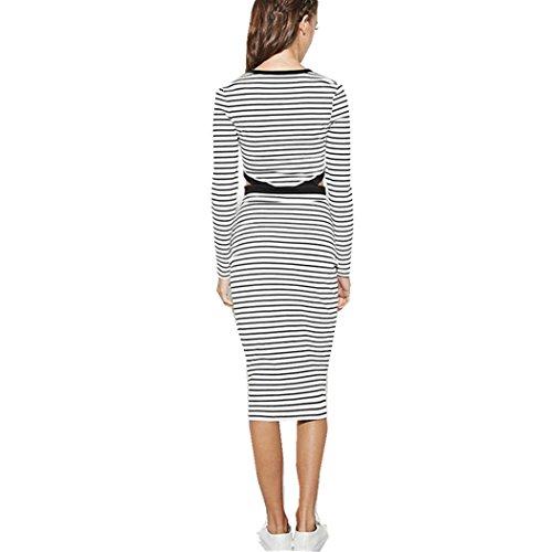 Romanstii - Robe - Manches Longues - Femme Blanc