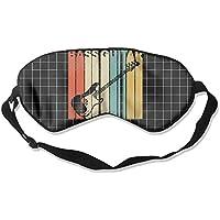 Vintage Style Bass Guitar Silhouette 99% Eyeshade Blinders Sleeping Eye Patch Eye Mask Blindfold For Travel Insomnia... preisvergleich bei billige-tabletten.eu