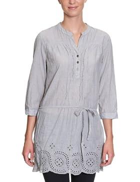 TOM TAILOR Damen Bluse, 20163530070/embroidered stripe tunic