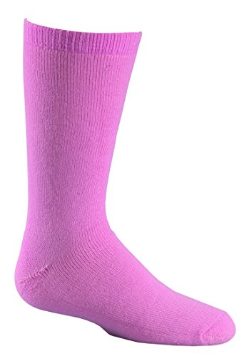 Fox River Kids Snow Slalom Jr. Wadenhohe Merino Wolle Socken, Pink, 5574 (River Kids Fox Socken)