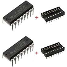 Generic L293D Motor Driver IC and Base -2 Pieces