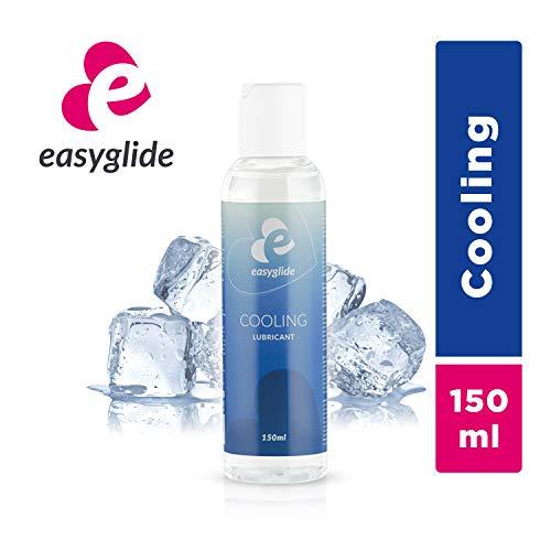 EasyGlide Lubricante Refrigerante (150 ml) Lubricante para cosquilleo con efecto refrescante, lubricante a base de agua con características de deslizamiento de larga duración