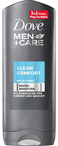DOVE Men + Care Clean Comfort Duschgel, 6er Pack (6 x 250 ml)