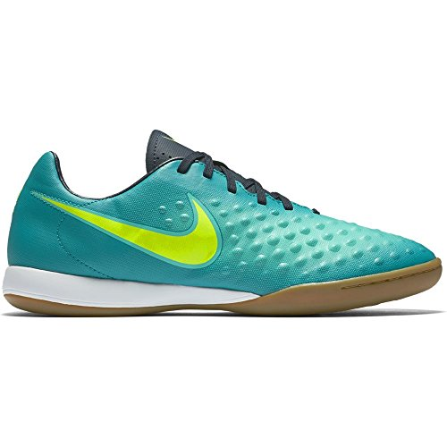 Nike 844413-375, Chaussures de Football en Salle Homme TURBO GREEN/NIGHTSHADE/MATTE S