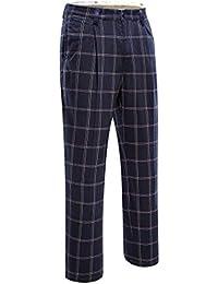 SWISSWELL Homme Pantalon de Golf Pantalon écossais Pantalon élastique à Carreau  Pants Sport c1d2a0bf0557