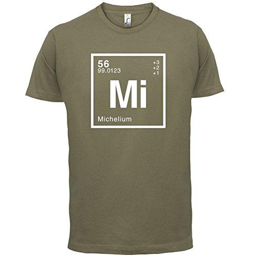 Michel Periodensystem - Herren T-Shirt - 13 Farben Khaki