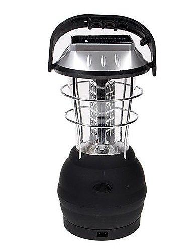 DXZMBDM® 36 LED-Leuchten Kurbel Solar-Laterne Camping Lampe mit Ladegerät (CIS-54038)