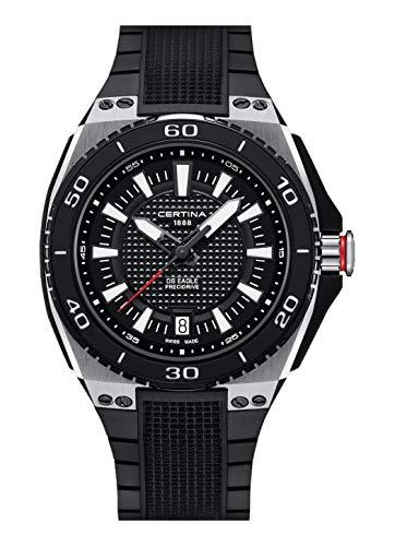 Certina DS Eagle Precidrive C023.710.27.051.00 - Reloj de Pulsera analógico para Hombre con Fecha y Mecanismo de Cuarzo