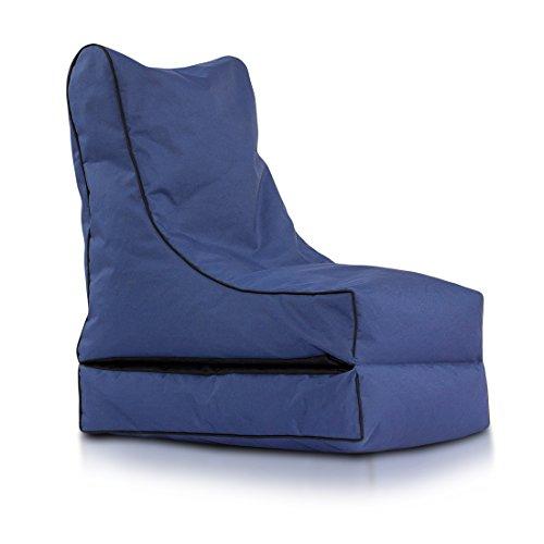 Ecopuf Abdeckung Sitzsack Chaise Longue Fumiko Polyester Breite cm.50cm Länge.Gebogen...