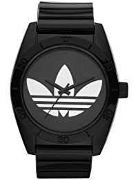 adidas Originals ADH2653 - Reloj analógico de cuarzo para hombre con correa de plástico, color negro